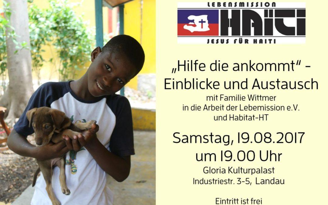 """""""HILFE DIE ANKOMMT"""" – Einblicke und Austausch"""